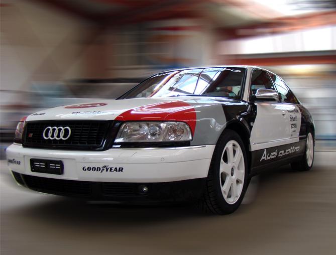 Audi in Beschriftungen