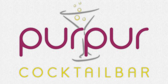 Purpur in Gestaltung