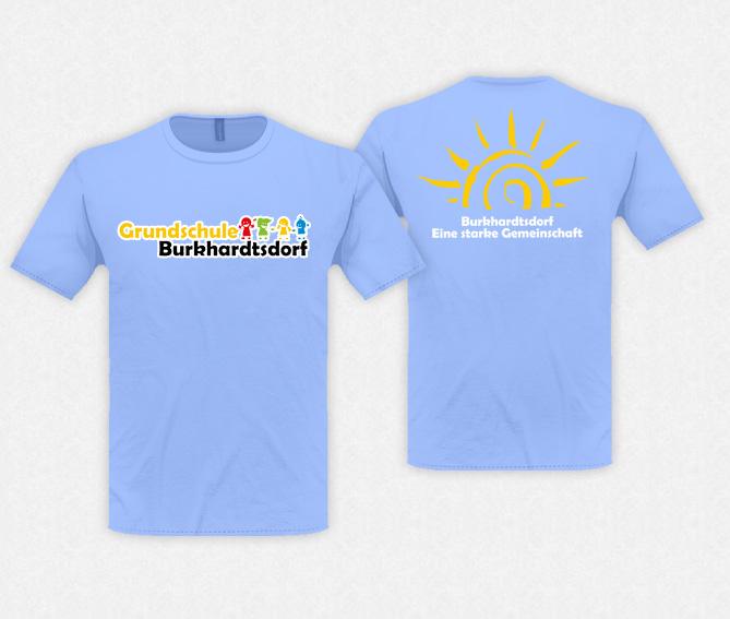 Shirt Grundschule in Textildruck